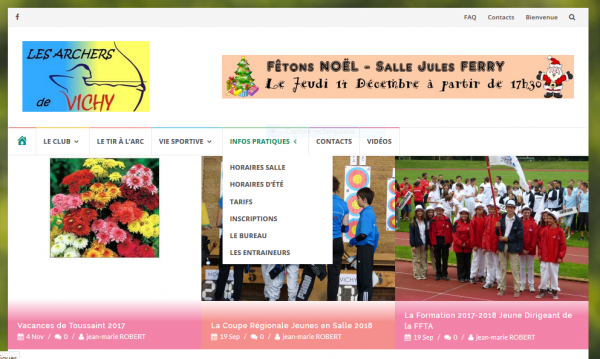 Le Site Internet... Nouvelle présentation...
