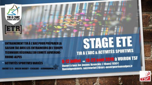 Stages d'été du Comité Régional AURA